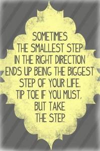 De eerste stap Aspiratiecoach